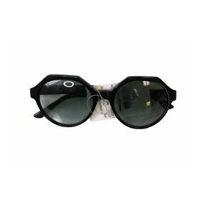 Kyme Mary Angular Round with Gradient Green Lenses